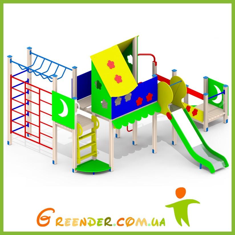 Игровая спортивная площадка для детей уличная І96