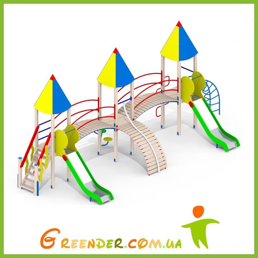 Металлические детские площадки І93
