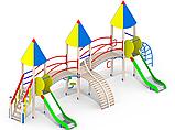 Металлические детские площадки І93, фото 2