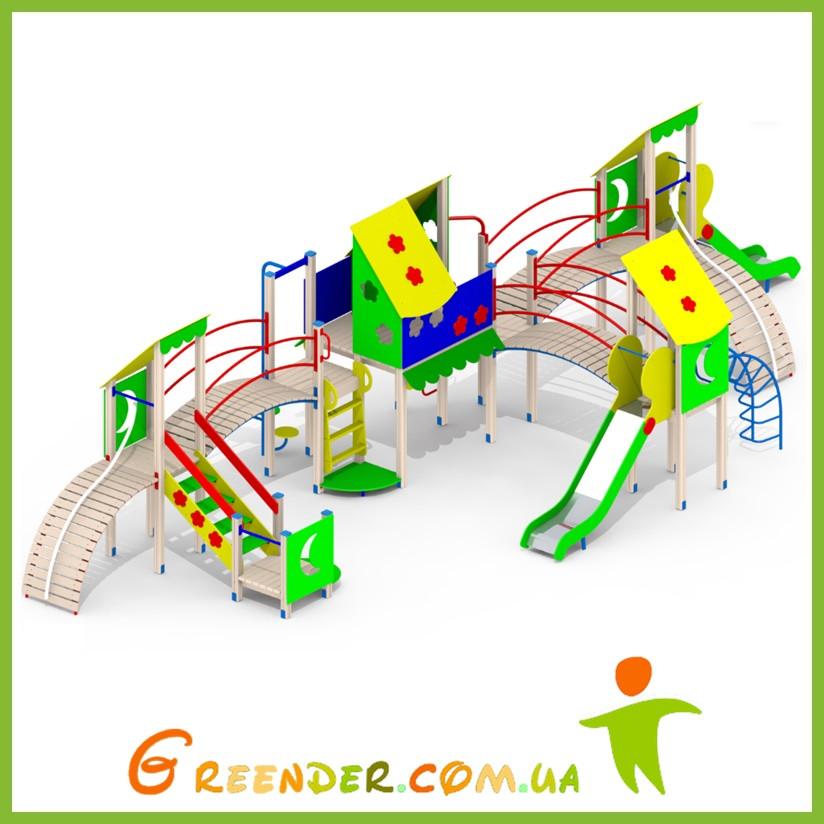 Игровые спорт комплексы уличные детские площадки І98