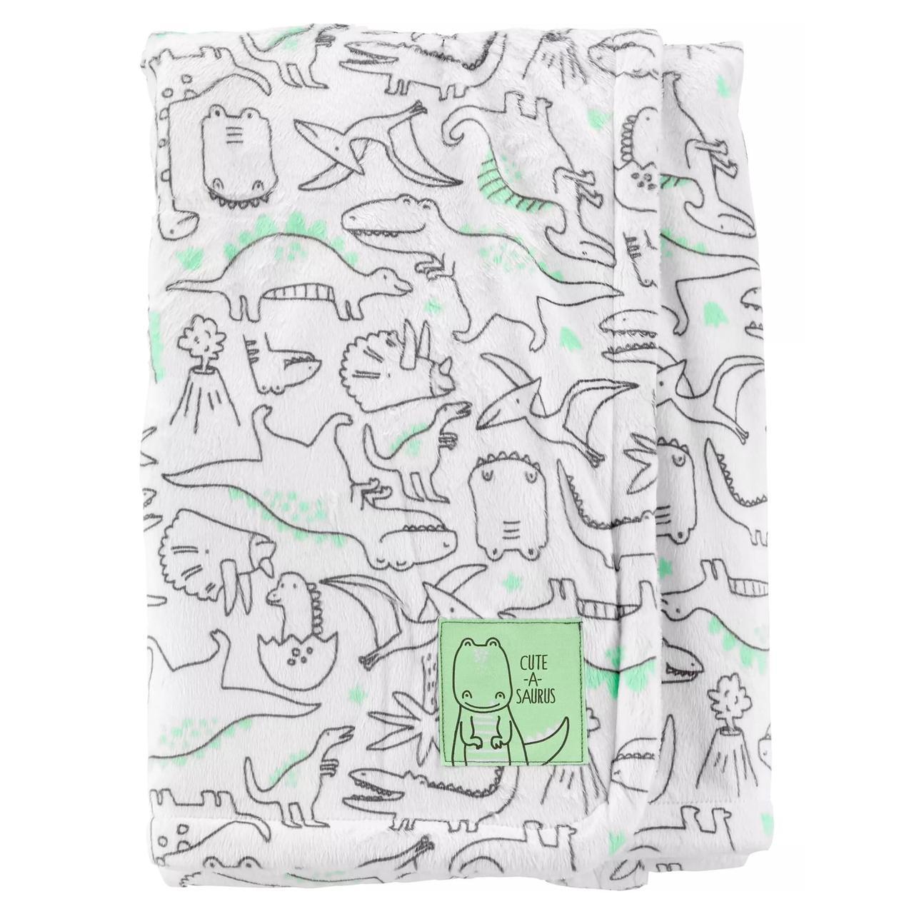 Плюшевое одеяло Carter's для мальчиков (США)