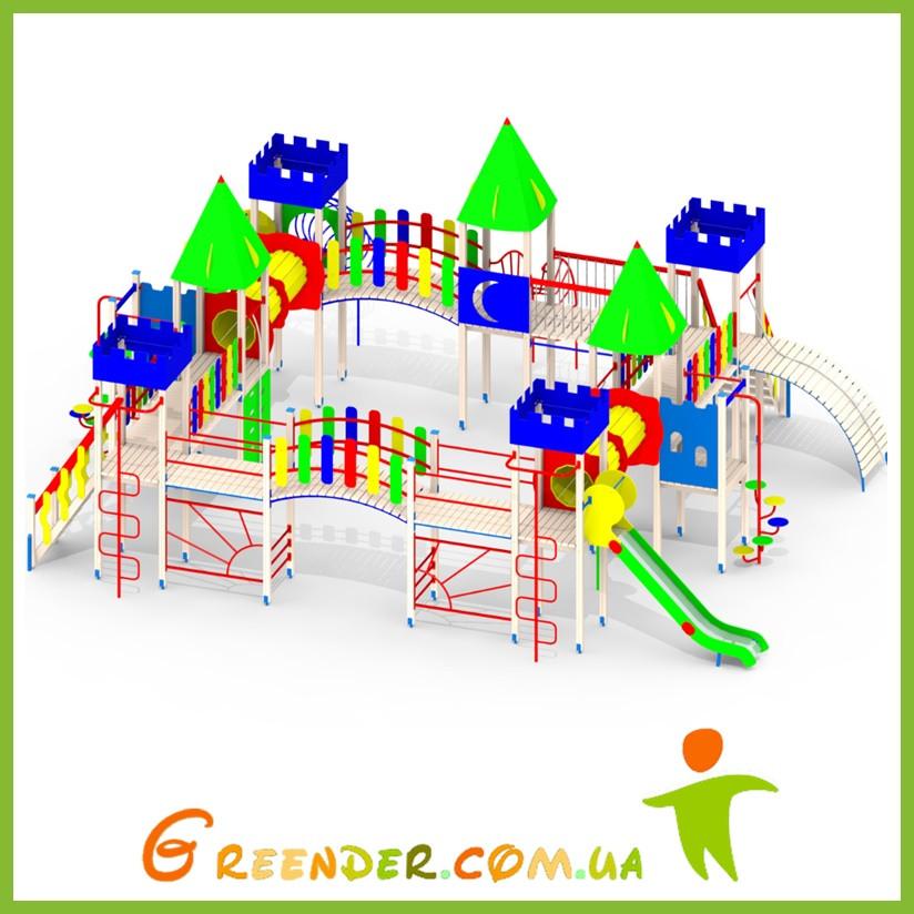 Игровая площадка детский спортивный комплекс на дачу L107