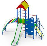 Игровой коплекс для спорта детская площадка деревянная Q21, фото 2