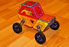 Магнитный конструктор Magical Magnet Автотехника 46 деталей 7046A, фото 3