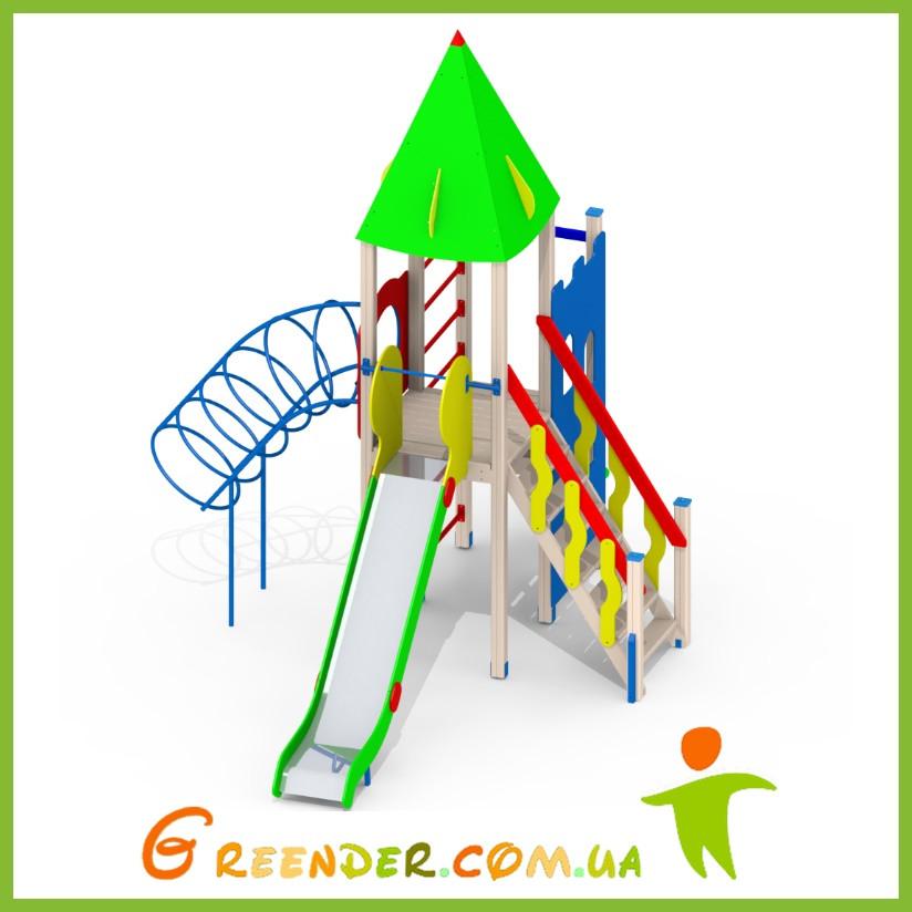 Игровые спортивные комплексы для детей уличные L101