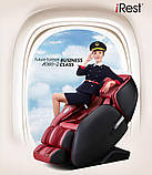 Массажное кресло Casada AlphaSonic 2 (grey-red) Limited Edition, фото 7