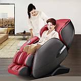 Массажное кресло Casada AlphaSonic 2 (grey-red) Limited Edition, фото 8