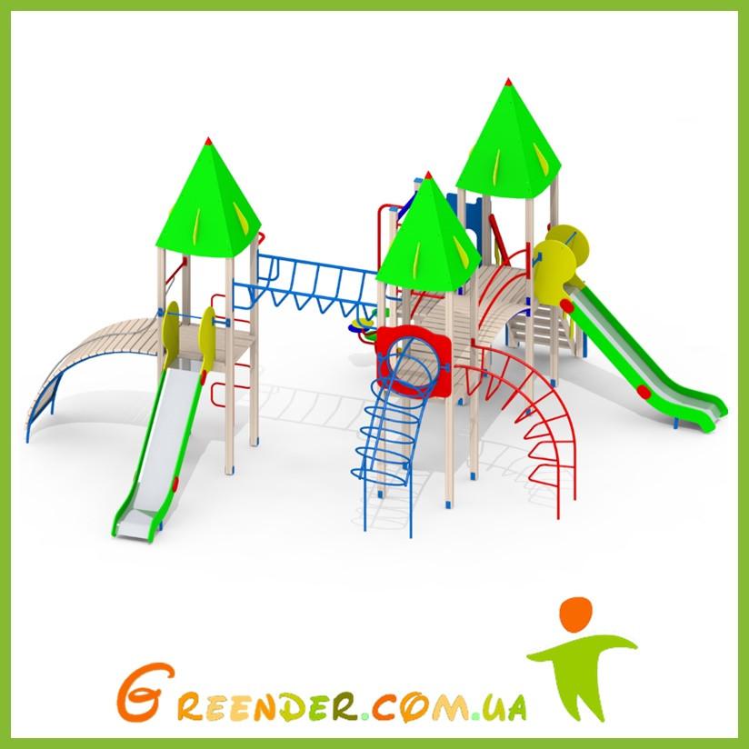 Детские игровые комплексы на улице L103