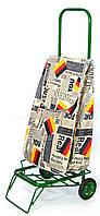 Усиленная хозяйственная сумка тележка на колесах с подшипниками Deutschland (0076)