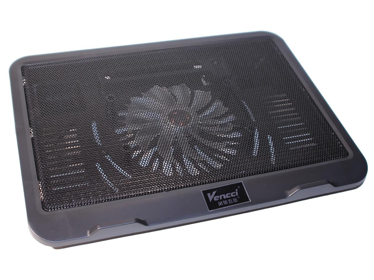 """Подставка для ноутбука до 16"""" Cool Pad Vencci DCX-019, Black с подсветкой"""
