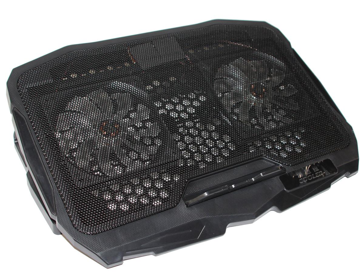 "Подставка для ноутбука до 17"" Cool Pad S18, Black с подсветкой"