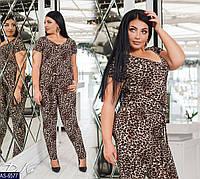 Леопардовый комбинезон р41.227-6