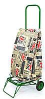Усиленная хозяйственная сумка тележка на колесах с подшипниками Great Britain (0077)