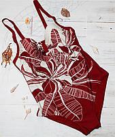 Купальник совместный SAMEGAME 6641 червоний, фото 1