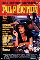 """Постер / Плакат """"Криминальное Чтиво / Pulp Fiction (Cover)"""""""