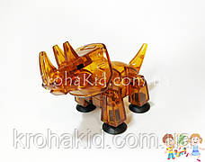 """Фигурка StikBot динозавр """"Трицератопс"""" Stik Triceratops Dino JM-13A (цвета в ассортименте), фото 2"""