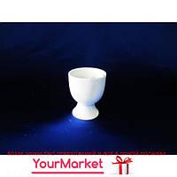 Подставка под яйцо керамическая белая 17953VT