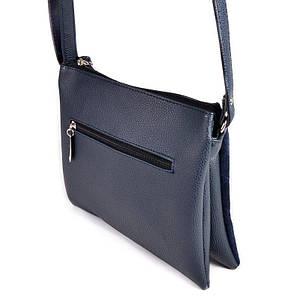 Женская сумочка через плечо М105-39/замш, фото 2
