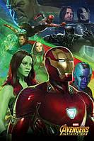 """Постер / Плакат """"Мстители: Война Бесконечности (Железный Человек) / Avengers: Infinity War (Iron Man)"""""""