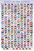 "Постер / Плакат ""Флаги Мира / Flags of the World"""