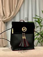 Женский рюкзак,кож.зам+нат.замша, фото 4