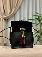 Женский рюкзак,кож.зам+нат.замша, фото 6