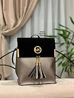 Женский рюкзак,кож.зам+нат.замша, фото 8