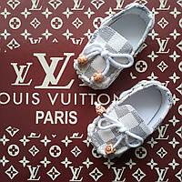 Пинетки мокасины Louis Vuitton, фото 1
