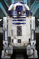 "Постер / Плакат ""Звёздные Войны: Эпизод VII / Star Wars Episode VII (R2-D2)"""