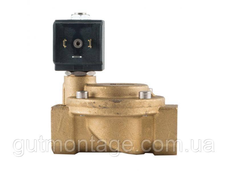 """Электромагнитный клапан для воды 1/2"""" Dn15 НО 230В. Семе Италия. Услуги по монтажу"""