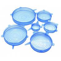 Крышки силиконовые для посуды