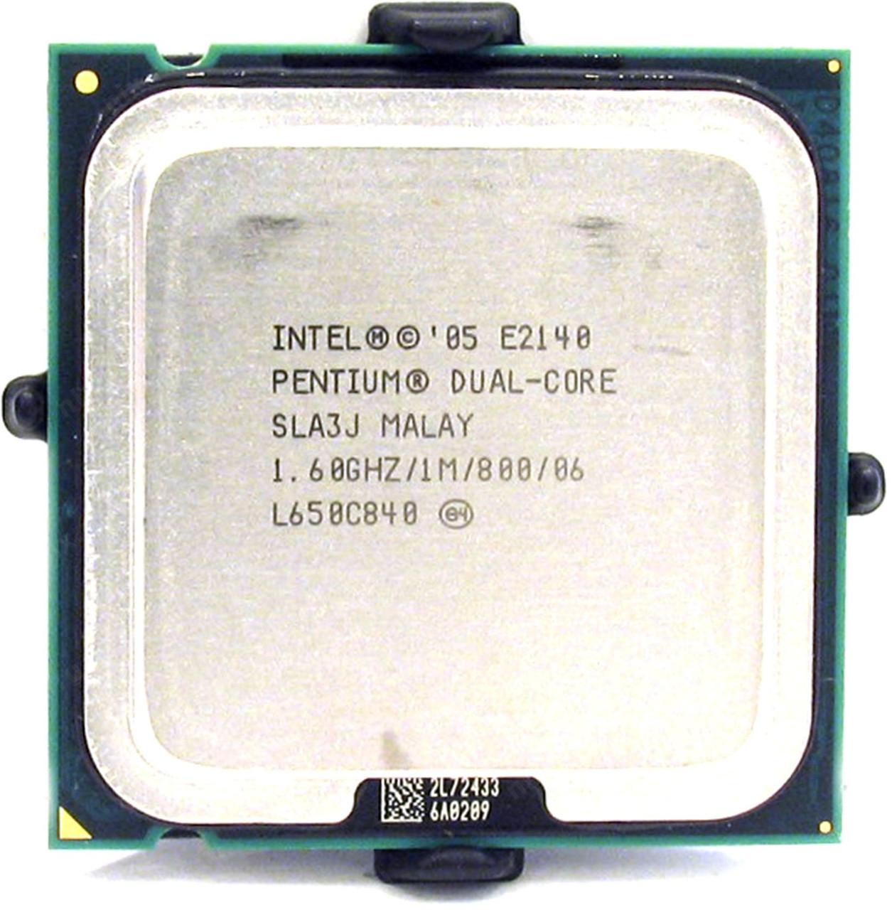 Процессор Intel Pentium Dual-Core E2140 1.60GHz/1M/800 (SLA3J) s775, tray