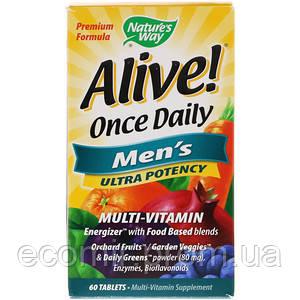 Витамины для мужчин, Nature's Way (60 таблеток / 1 в день)