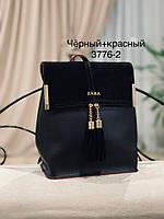 Женский рюкзак,кож.зам+нат.замша, фото 3