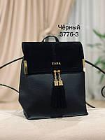 Женский рюкзак,кож.зам+нат.замша, фото 7
