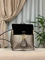 Женский рюкзак,кож.зам+нат.замша, фото 9
