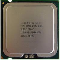 Процессор Intel Pentium Dual-Core E2160 1.80GHz/1M/800 (SLA8Z) s775, tray