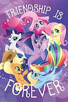 "Постер / Плакат ""Мой Маленький Пони (Дружба Навсегда) / My Little Pony Movie (Friendship is Forever)"""
