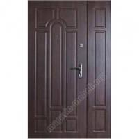 Двери входные бронированые Эконом ПВХ 02 (Ш 1200)