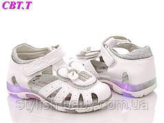 Детская обувь. Детские босоножки со светящейся подошвой бренда CBT.T-Meekone для девочек (рр. с 22 по 27)