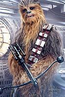 "Постер / Плакат ""Звёздные Войны: Последние Джедаи (Чубакка) / Star Wars The Last Jedi (Chewbacca Bowcaster)"""