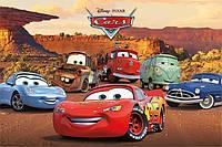 """Постер / Плакат """"Тачки (Персонажи) / Cars (Characters)"""""""