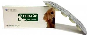Таблетки Енвайр Артеріум від глистів для собак 1табл