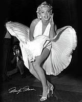 """Постер / Плакат """"Мэрилин Монро / Marilyn Monroe (Seven Year Itch)"""""""