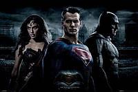 "Постер / Плакат ""Бэтмен против Супермена (Трио) / Batman v Superman (Trio) """