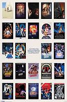 """Постер / Плакат """"Звездные Войны / Star Wars (One Sheet Collage)"""""""