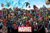 "Постер / Плакат ""Marvel (Universe)"""