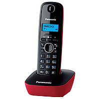 Радиотелефон Panasonic KX-TG1611UAR Black/Red, Caller ID