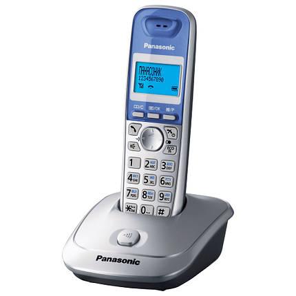 Радиотелефон Panasonic KX-TG2511UAS Silver, АОН, Caller ID, фото 2