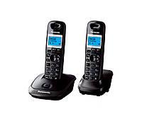 Радиотелефон Panasonic KX-TG2512UAT Titan + доп. трубка, АОН, Caller ID